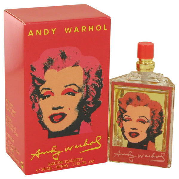 Andy Warhol Marilyn Red by Andy Warhol Eau De Toilette Spray 1 oz for Women