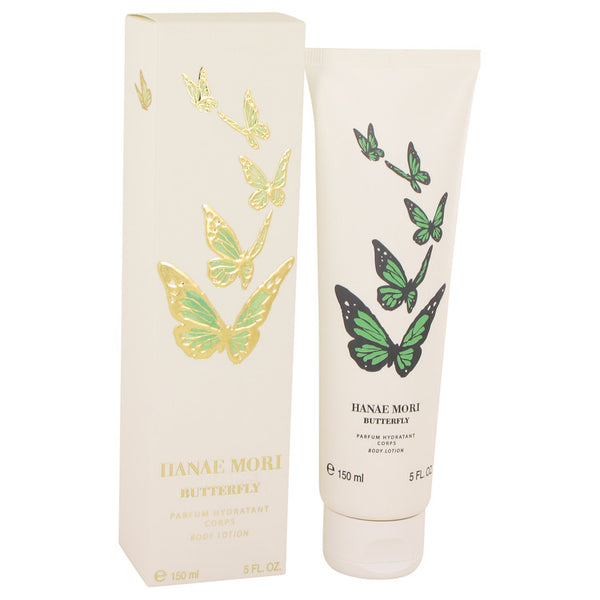 HANAE MORI by Hanae Mori Body Lotion (Green Butterfly) 5 oz for Women
