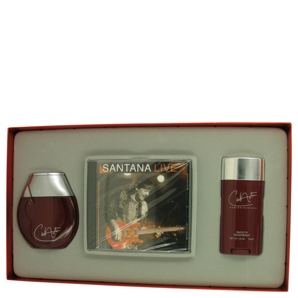 Carlos Santana by Carlos Santana Gift Set -- for Men