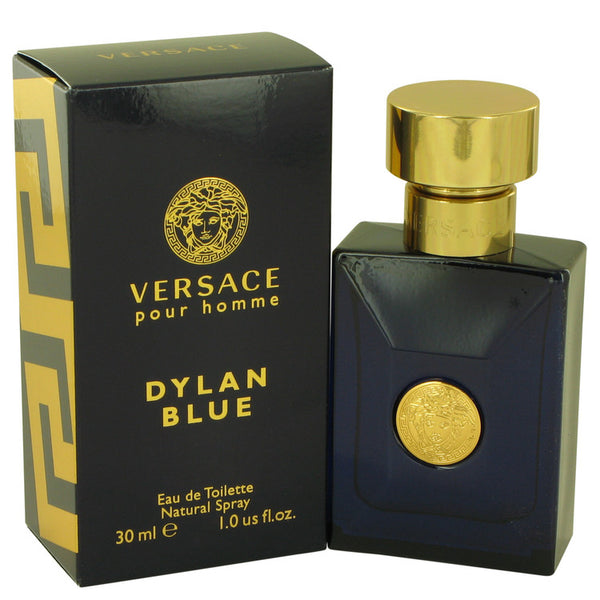 Versace Pour Homme Dylan Blue by Versace Eau De Toilette Spray 1 oz for Men
