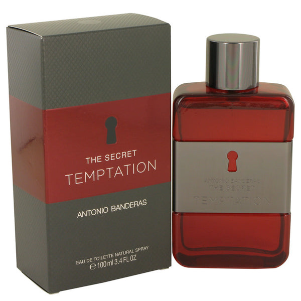 The Secret Temptation by Antonio Banderas Eau De Toilette Spray 3.4 oz for Men