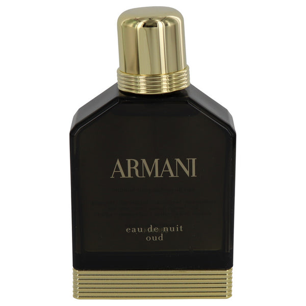 Armani Eau De Nuit Oud by Giorgio Armani Eau De Parfum Spray (Tester) 3.4 oz for Men