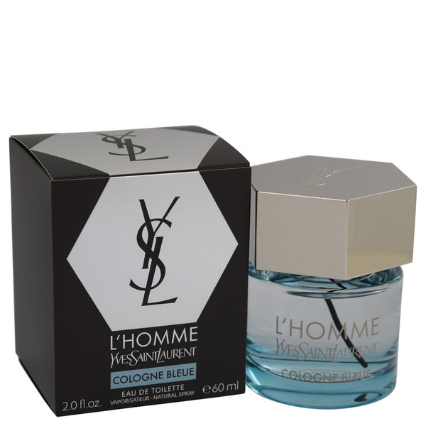 L'homme Bleue by Yves Saint Laurent Eau De Toilette Spray 2 oz for Men