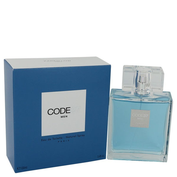 Code 37 by Karen Low Eau De Toilette Spray 3.4 oz for Men