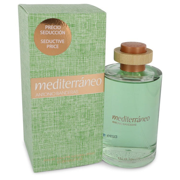 Mediterraneo by Antonio Banderas Eau De Toilette Spray 6.8 oz for Men