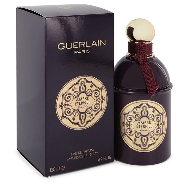 Guerlain Ambre Eternel by Guerlain Eau De Parfum Spray (Unisex) 4.2 oz for Women