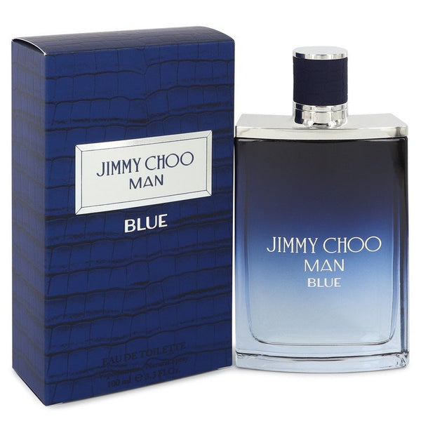 Jimmy Choo Man Blue by Jimmy Choo Eau De Toilette Spray 3.4 oz for Men