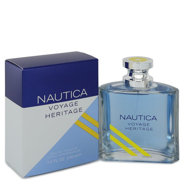 Nautica Voyage Heritage by Nautica Eau De Toilette Spray 3.4 oz for Men