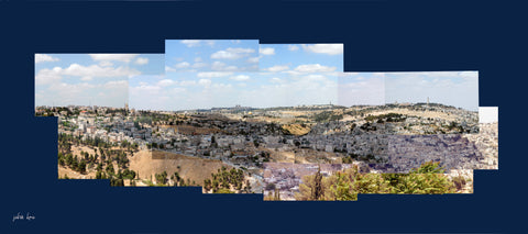 Jerusalem From Armon Hanaziv Boardwalk (2)