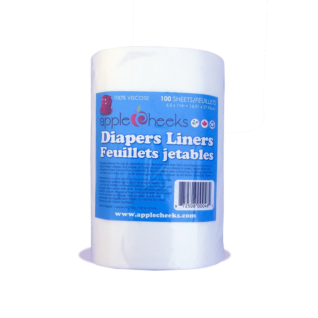 AppleCheeks - disposable Flushable Liners