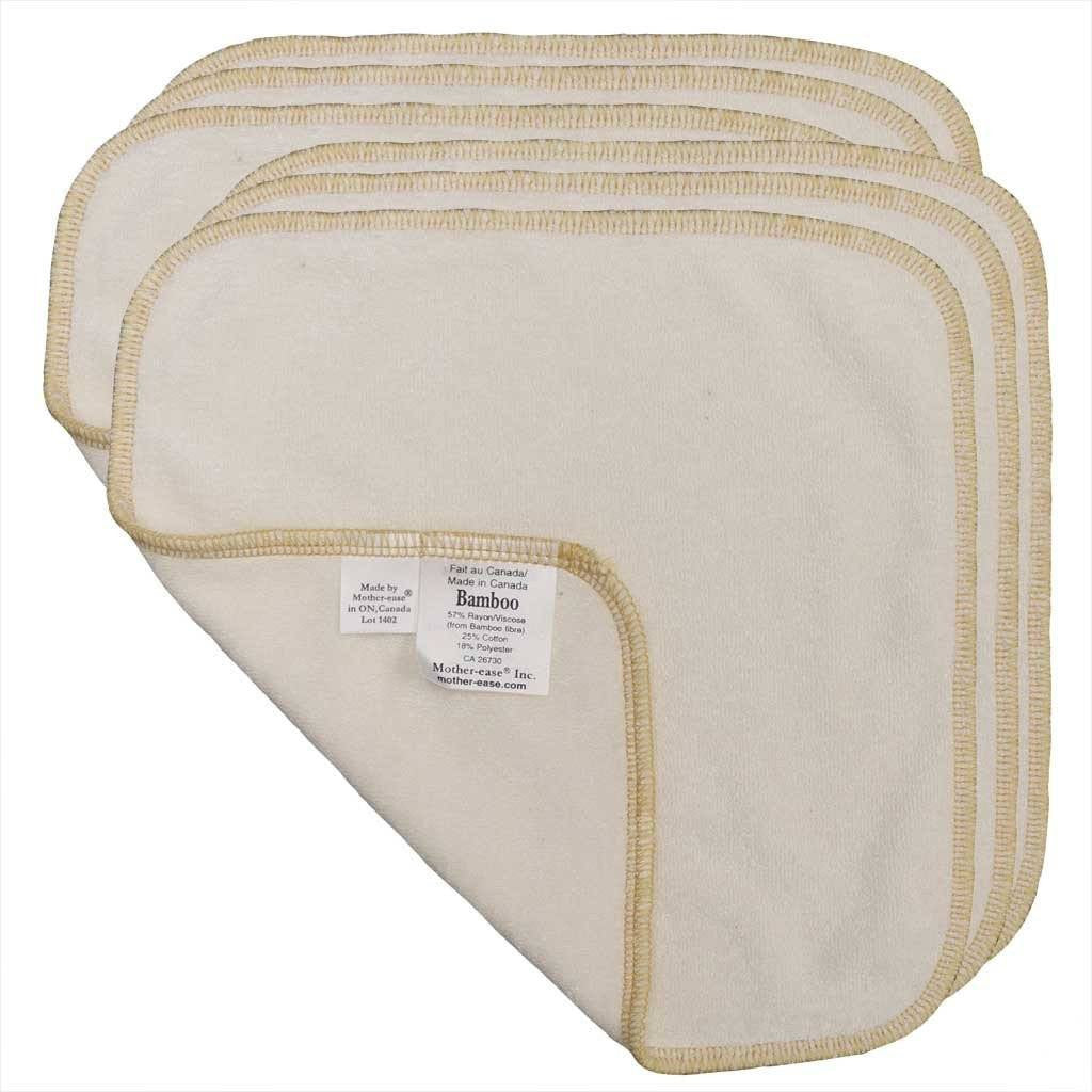Mother ease Cloth Wipes - Bamboo Terry