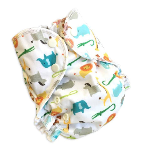 AMP Diapers One Size Duo Pocket Diaper - Nutty by Nature
