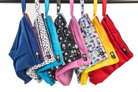 Funky Fluff Double Pocket Wet Bag
