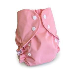 AMP Diapers One Size Duo Pocket Diaper - Flamingo