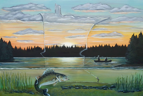 Amy Marie Kulseth State of the Art Gone Fishing 2016