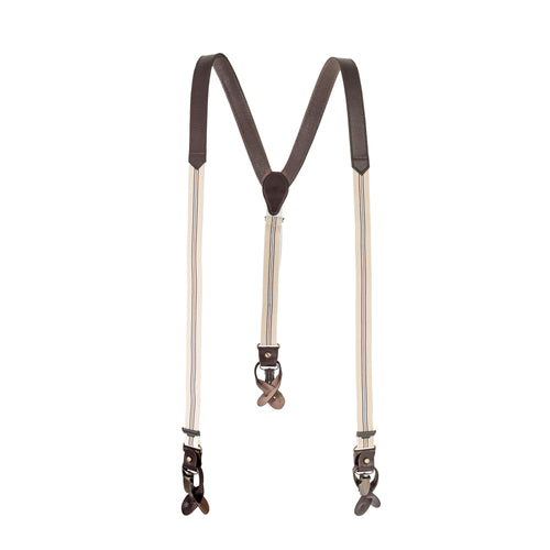 Chocolate Suspenders - Beige