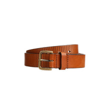 Belt Perforations - Cognac