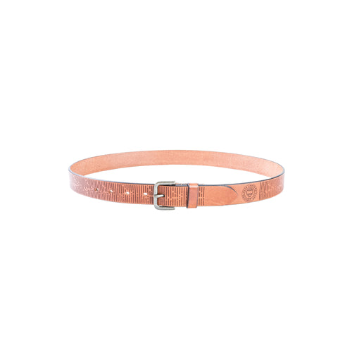 Belt Broken Lines - Cognac