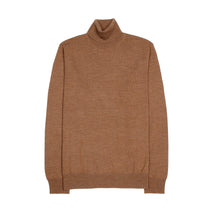 Turtle Neck Sweater - Camel