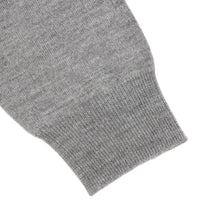 Turtle Neck Sweater - Light Grey
