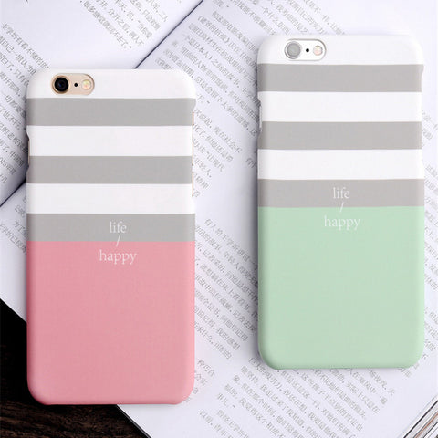 Fashion Candy Color Cover For iPhone 7 7Plus 5 5S SE 6 6S 6Plus