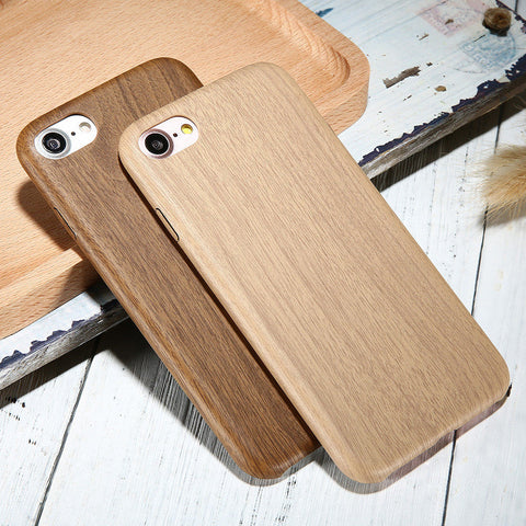 KISSCASE For iPhone 5 5s 7 6 Plus Case Retro Vintage Wood