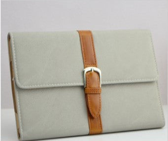 Luxury Flip Buckle Knot Belts / Genuine Leather Case For ipad mini 1/2/3 Retina ipad 2 3 4 Air