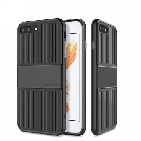 Baseus Case For iPhone 7 and 7 Plus / Travel Series Soft TPU PC Double Protection