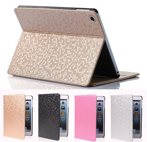 Leather Magnetic case For ipad mini 2 /3 PU Smart Stand Holder