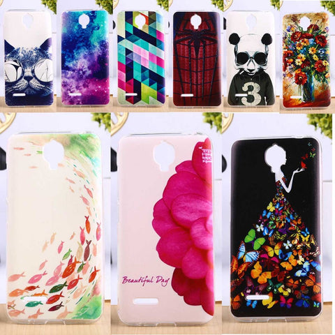 Soft TPU Cover For Alcatel OneTouch Idol 2 Mini L Anti-Knock