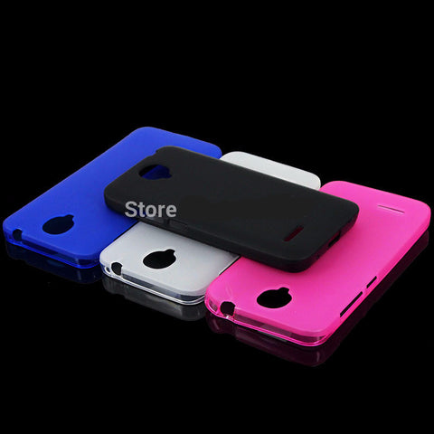 Soft Silicone TPU Protection Case for Alcatel One Touch Idol 2 Mini L / OT6014 / 6014D / 6014X