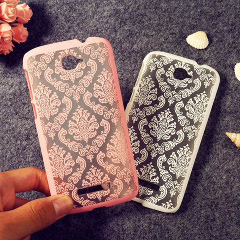 Floral Retro Phone Cases For Alcatel OneTouch Pop C7\idol 2 mini S\idol 3\pixi 3\pop 3