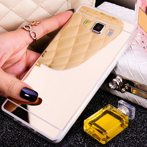 Mirror Case For Samsung A5 A7 J1 J3 J5 J7 2015 2016 A3 2017 Grand Prime S3 S4 S5 Neo S6 S7 Edge