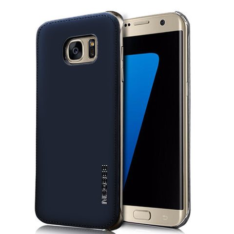 Case Leather For Samsung S7&S7 Edge Original Luxury