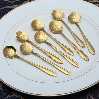 Flower Spoon |8pcs/lot|