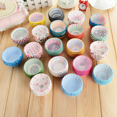 Cupcake Baking Cups 100pcs/lot