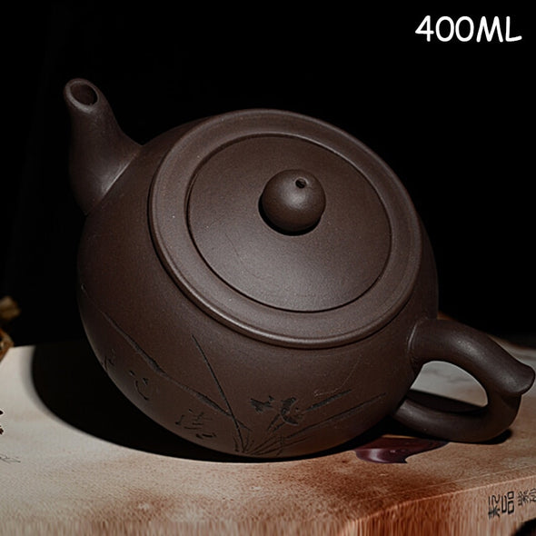 Authentic handcraft Purple Clay Teapot