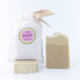 All Natural Beer Soap Hand And Body Bar Peppermint Lemon