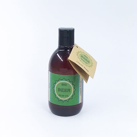 All Natural Liquid Beer Soap Mint