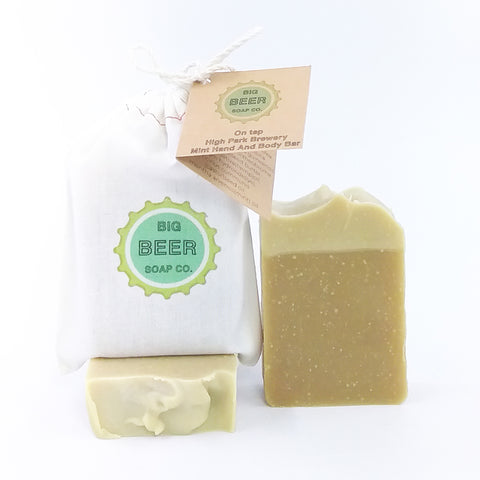 All Natural Mint Beer Soap Toronto