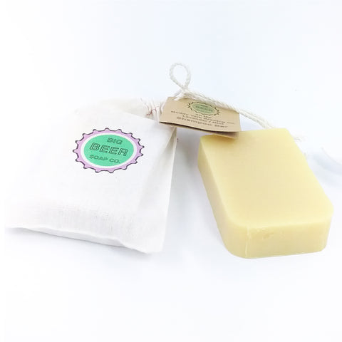 All Natural Shampoo Bar Lavender Mint Beer Soap