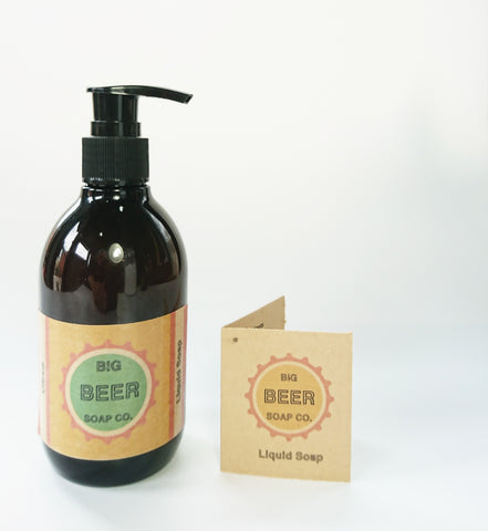 Beer Soap /Citrus/ Liquid Hand And Body Soap