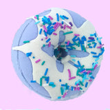 Bath Bomb Donut Scented With Lavender Essential Oil