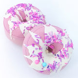 Bath Bomb Donut Scented With Grapefruit Essential Oil