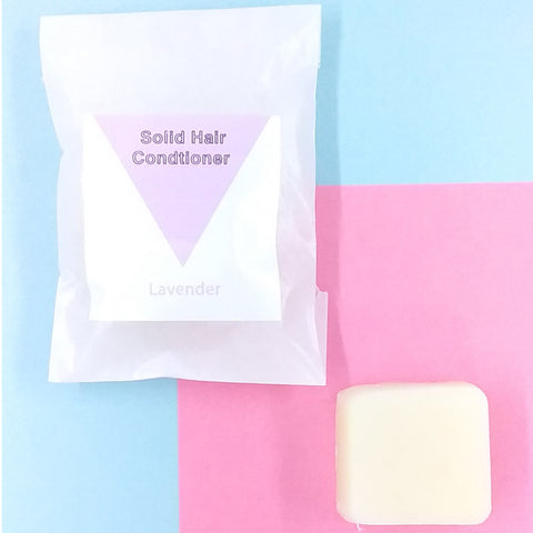 Lavender Solid Hair Conditioner Bar