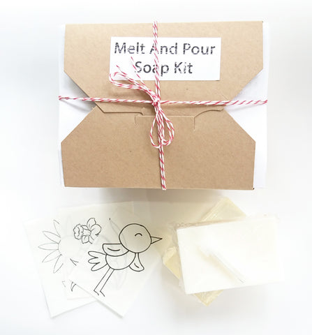 Melt and Pour Soap Kit : Spring Edition
