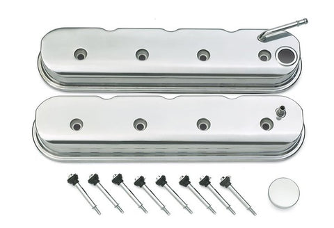 GM LS Valve Covers - Polished Bare