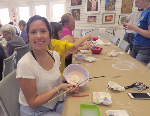 The Visual Arts Center hosts the Empty Bowls Charity every year.