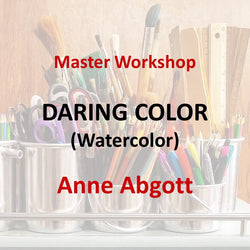 Master Workshop with Abgott - DARING COLOR (Watercolor)