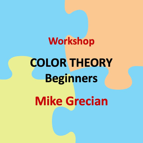 Workshop with Grecian - COLOR THEORY (Beginner)